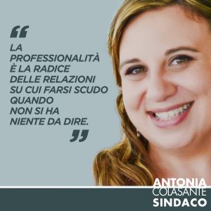 Antonia-Sindaco_professionalita