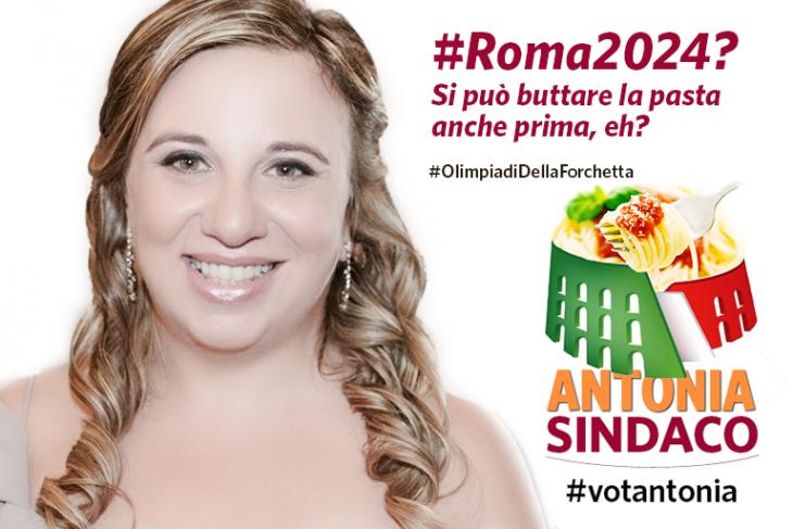 #Roma2024 #Olimpiadi2024 #votantonia