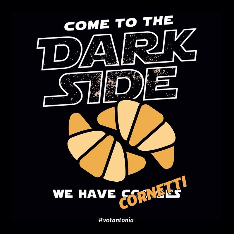 Come to the dark side…⠀ #MayThe4thBeWithYou #StarWarsDay #votantonia