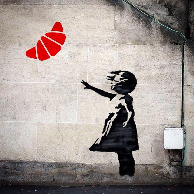 The Banksy identity  #votantonia