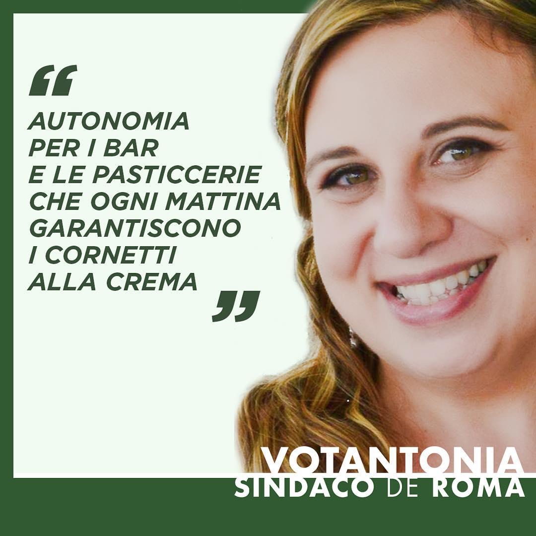 #Autonomia per i bar e le pasticcerie che ogni mattina garantiscono i cornetti alla crema.⠀ #Votantonia #Referendum