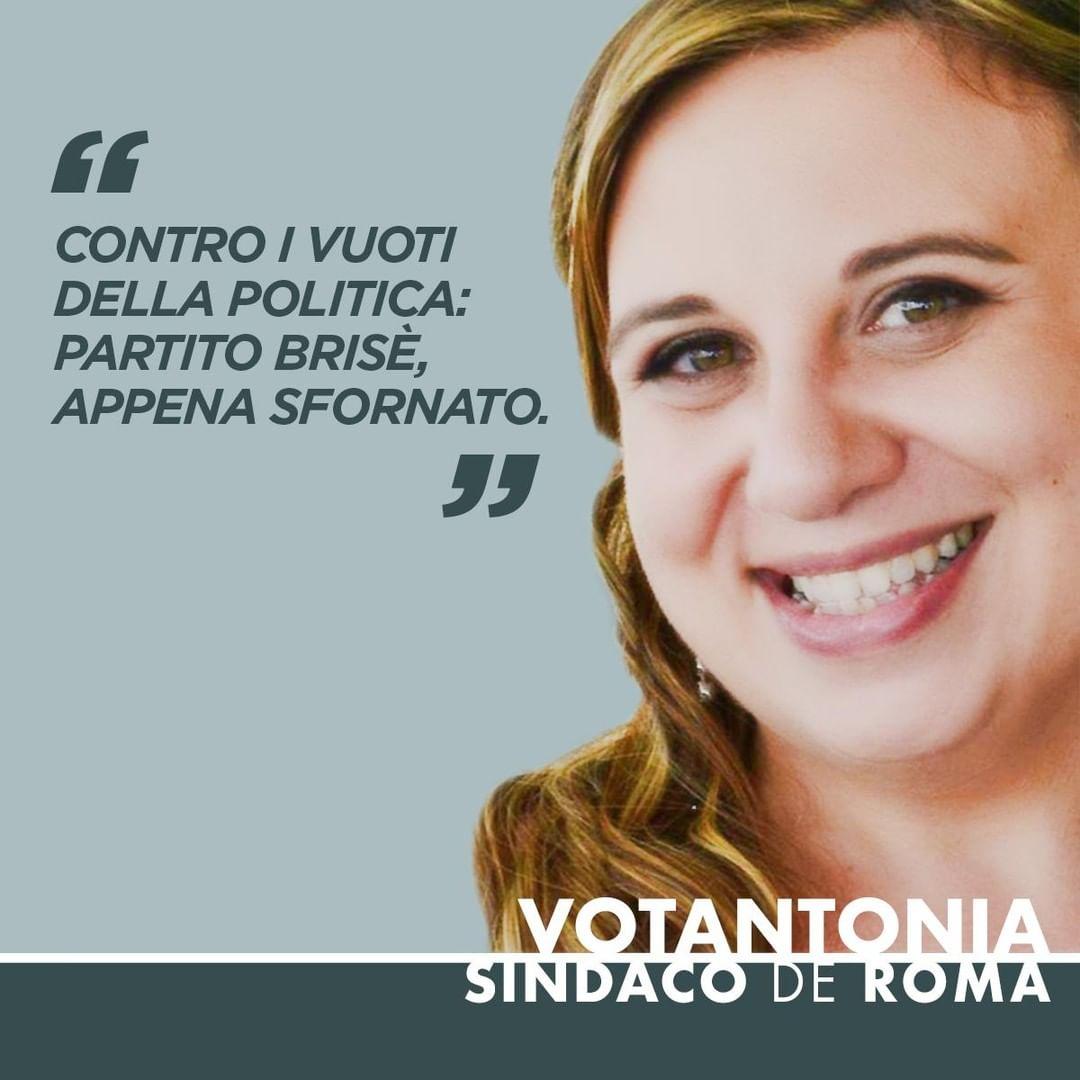 Contro i vuoti della politica:⠀ Partito brisè, appena sfornato.⠀ ⠀ #votantonia #therealvotantonia #consultazionibis #crisidigoverno